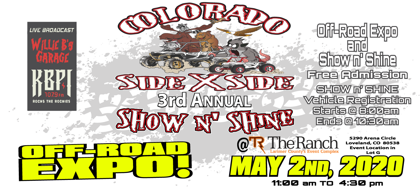 Colorado Side x Side Annual Off-Road Expo & Show n' Shine