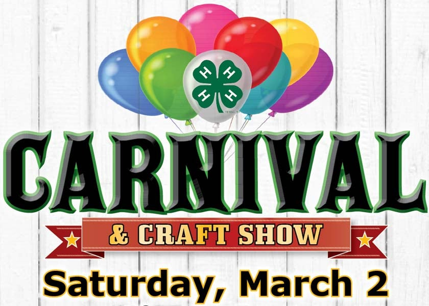 More Info for 4-H Carnival & Craft Show