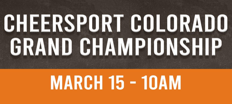 POSTPONED: CHEERSPORT Colorado Grand Championship