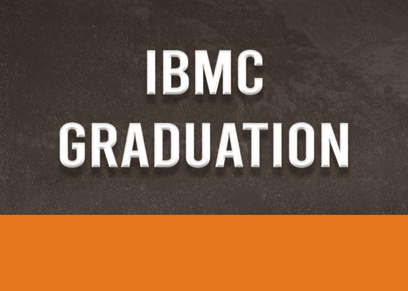 More Info for IBMC Graduation