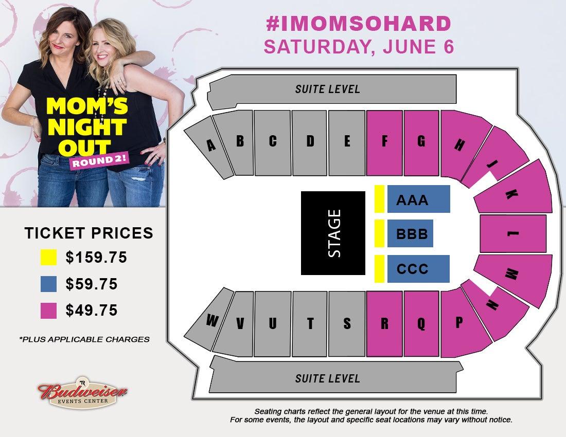 #IMOMSOHARD - Seating Map
