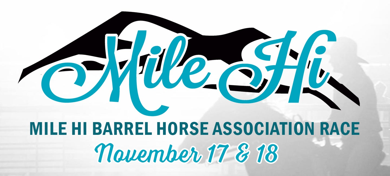 Mile Hi Barrel Horse Association Race