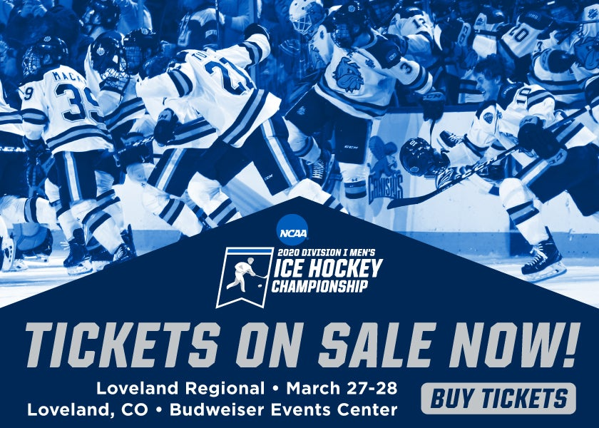 More Info for CANCELLED: NCAA D1 Ice Hockey