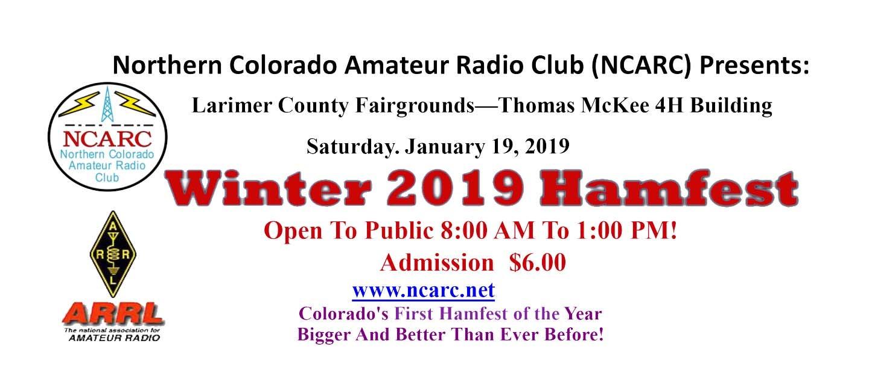 2019 NCARC Winter Hamfest