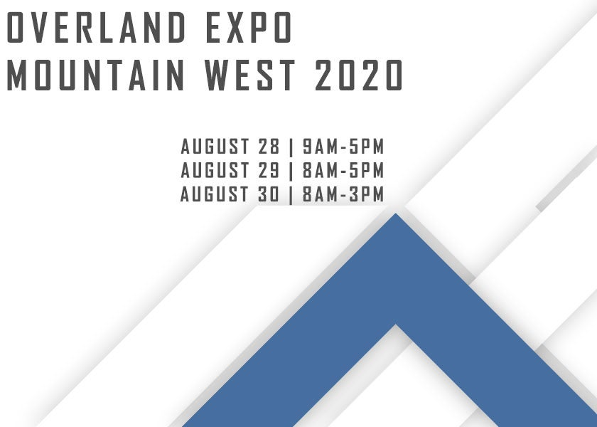 More Info for Overland Expo Mountain West