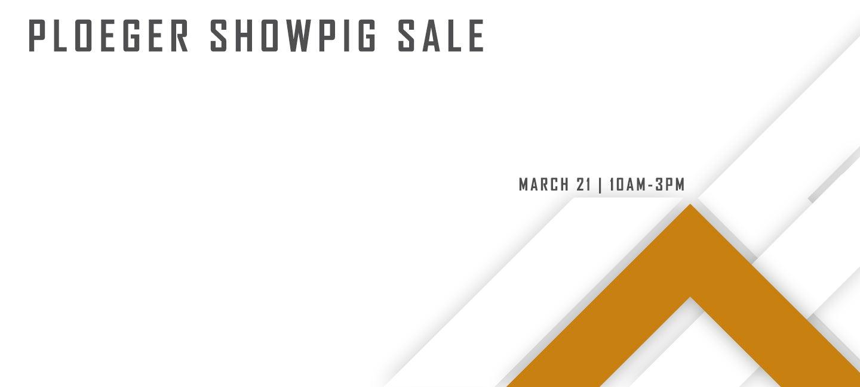 Ploeger Showpig Sale