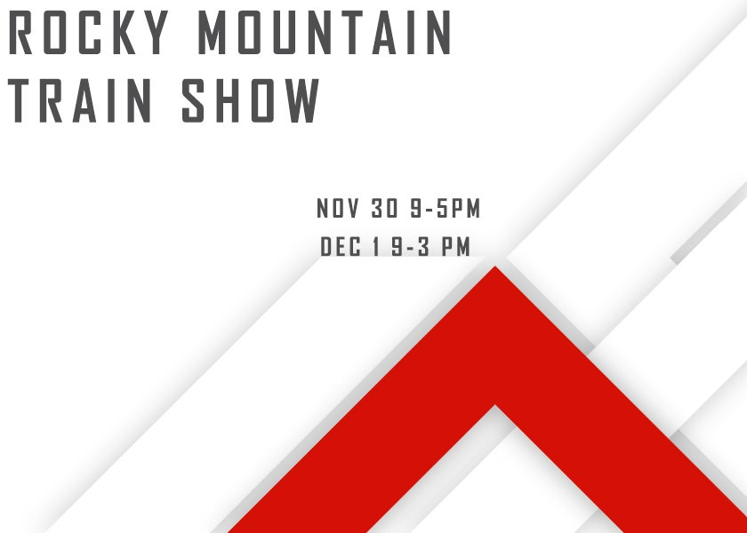 More Info for Rocky Mountain Train Show