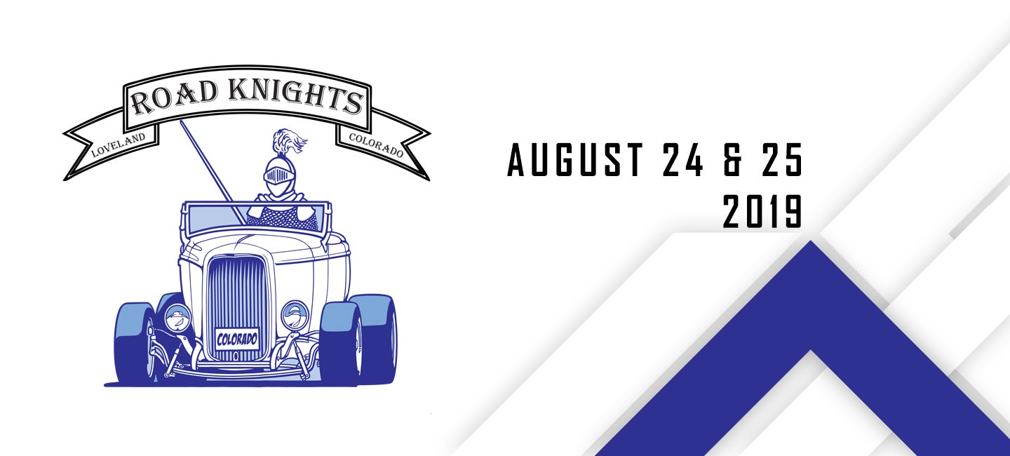Road Knights Blue light Special Car show