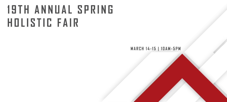 19th Annual Spring Holistic Fair