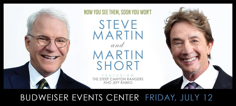 Steve Martin + Martin Short