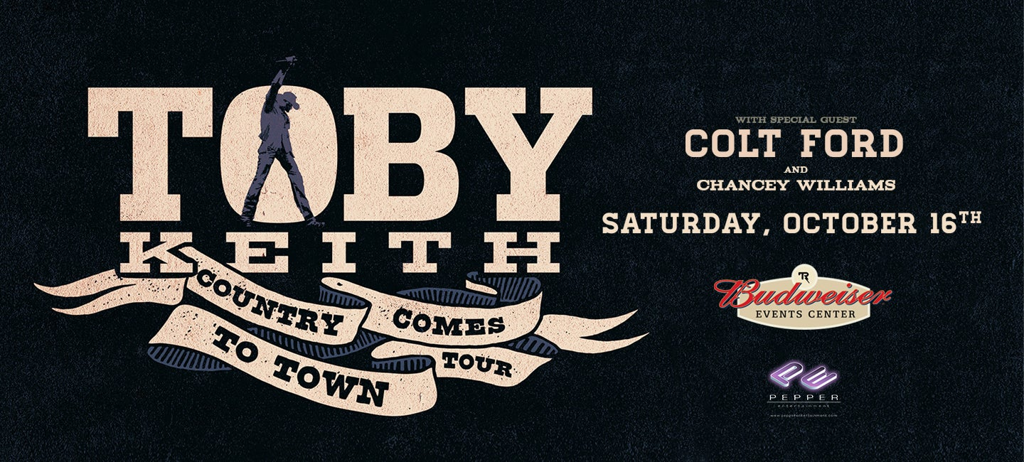 RESCHEDULED: Toby Keith