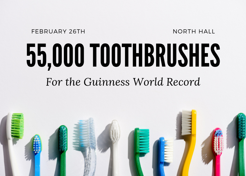More Info for Longest Line of Toothbrushes