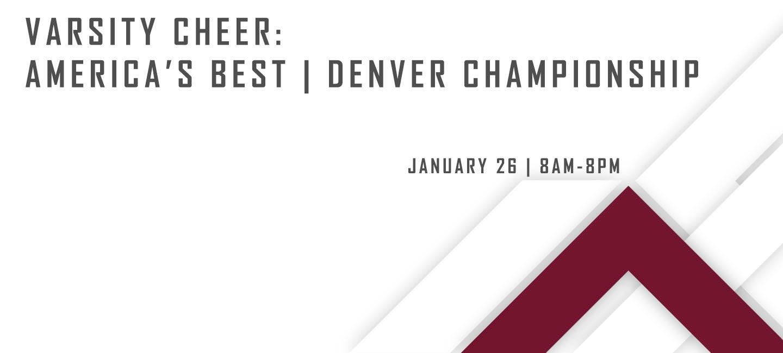 Varsity Cheer: America's Best - Denver Championship